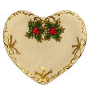 NWOT Holly Christmas Trinket Dish
